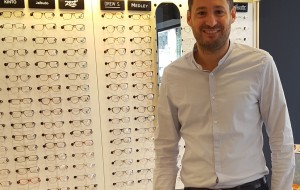 The scent marketing experience at an Optic 2000 optician