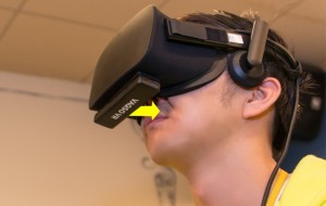 Virtual reality and scent marketing